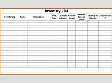 Inventory checklist template Authorization Letter Pdf