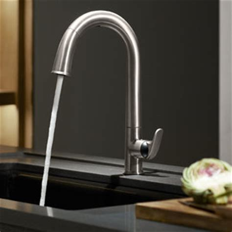 sensate touchless kitchen faucet kohler k 72218 vs sensate touchless kitchen faucet vibrant stainless touchless kitchen sink