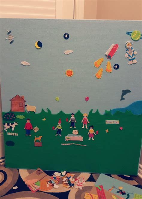 felt story board hands  teaching ideas kindergarten