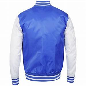 Majestic Men39s LA Dodgers Bleacher Satin Jacket Blue