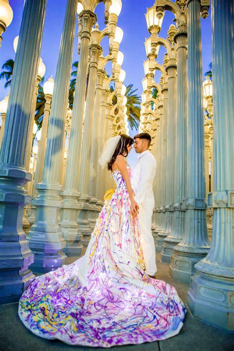 led wedding dresses  evey clothing rock  roll bride