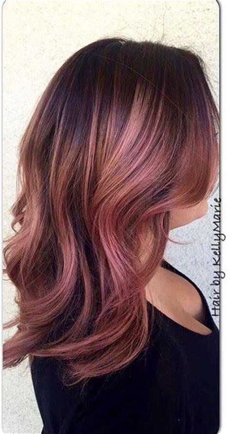 stunning rose gold hair ideas  haircut web