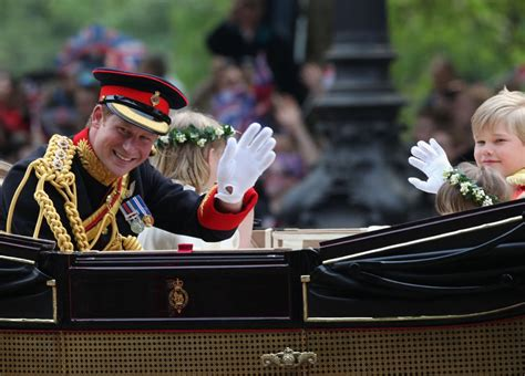 Pictures of Prince Harry in the Carriage Procession After ...