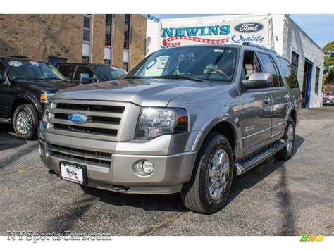 Newins Ford by 2008 Ford Expedition Limited 4x4 In Vapor Silver Metallic