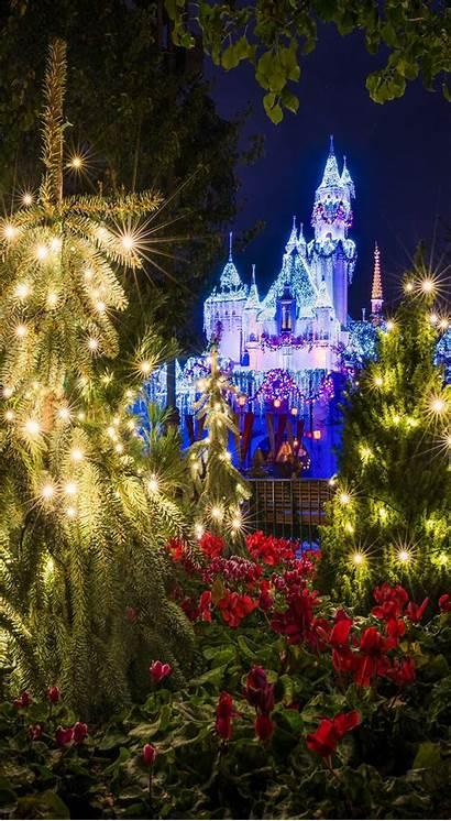 Christmas Iphone Phone Disneyland Phones Disney Wallpapers