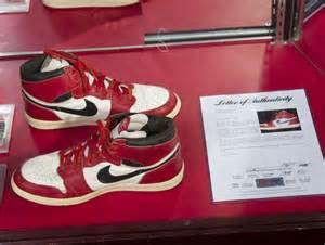 Michael Jordan's First Basketball Shoes