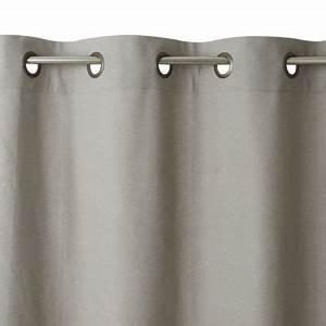 Rideau Gris Clair : rideau salla gris clair 140x250 cm castorama ~ Teatrodelosmanantiales.com Idées de Décoration