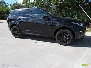 2017 Santorini Black Metallic Land Rover Discovery Sport ...