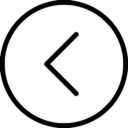 Previous Button Icon Arrow Prev Svg Circle