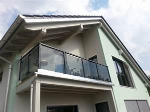 Balkongeländer Glas Anthrazit : balkongel nder mit glas komplette baus tze gel ~ Michelbontemps.com Haus und Dekorationen