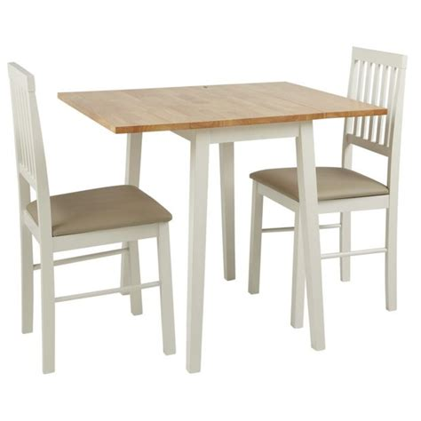 Kitchen Furniture Argos buy home kendall drop leaf table and 2 dining chairs two