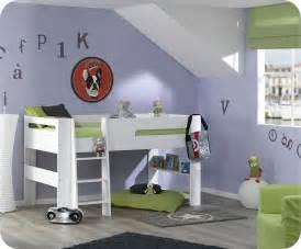 Pack lit mi hauteur enfant wax blanc 90x190 cm avec matelas for Tapis chambre enfant avec matelas palacio avis
