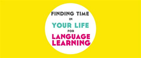 Finding Time In Your Life For Language Learning  Free Ebook!  Lindsay Does Languages