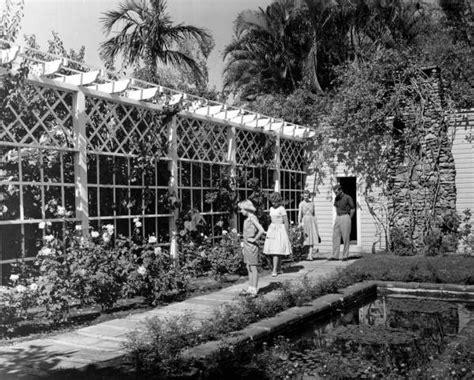 florida memory garden walk at edison s home in