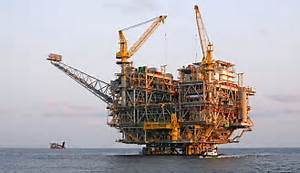 An oil rig off the coast of Angola. The country is Africa's second ... Angola