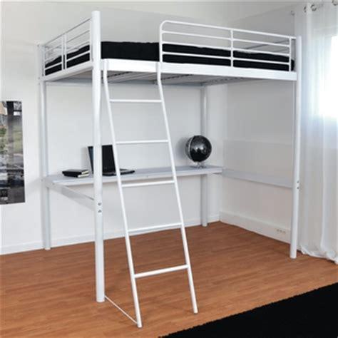 lit mezzanine bureau pas cher promo lit la maison de valerie lit mezzanine 140 x 190