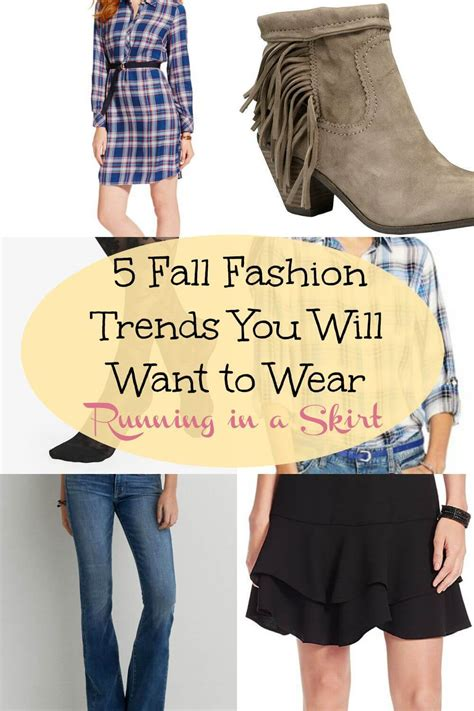 5 Fall Fashion Must Haves  Running In A Skirt