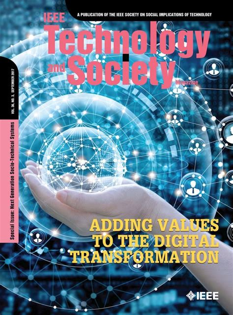 technology  society magazine ieee technology  society