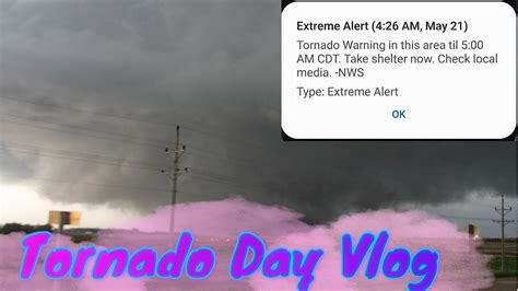 Are we under a tornado warning? Tornado Day Vlog - YouTube