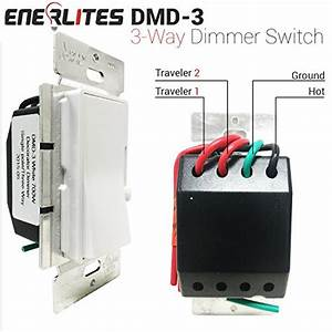 Enerlites Dmd-3 3-way Dimmer Switch  120vac 60hz