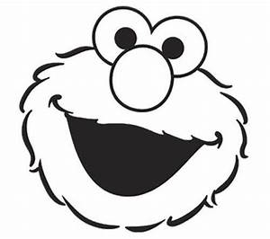 elmo face coloring page for baby pinterest elmo and With printable elmo cake template