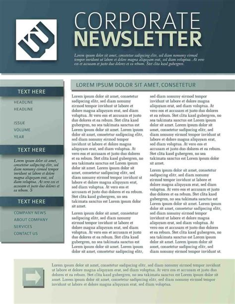 department newsletter templates newsletter templates