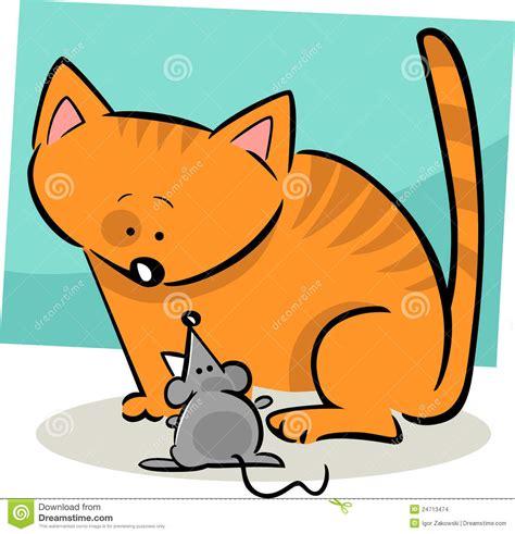 cuisine dessin animé griffonnage de dessin animé de et de souris images stock image 24713474