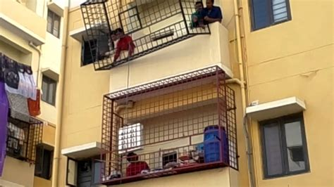 how to fix balcony grill at the apartment