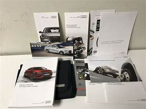 2015 Audi A3  S3 Owners Manual Book With Case For Sale
