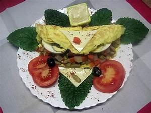 Decoration Legumes Facile : recette d 39 omelettes compos es de l gumes ufs r p ~ Melissatoandfro.com Idées de Décoration