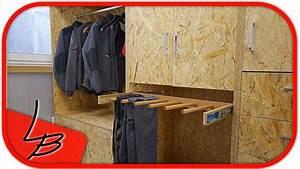 Holzschrank Selber Bauen : 1 5 schrank garderobe selber bauen aus osb youtube ~ Michelbontemps.com Haus und Dekorationen