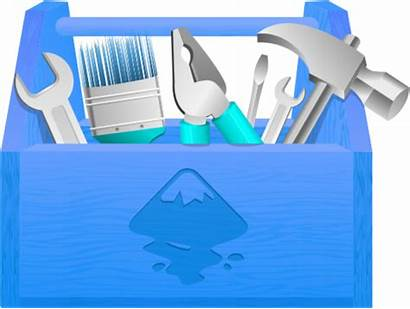 Tool Toolbox Clip Clipart Box Pink Tools