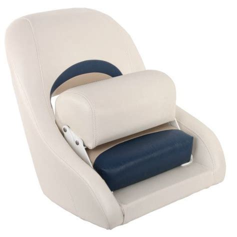 Captain Seat For Boats by Captains Seat 200 With Flip Up Bolster