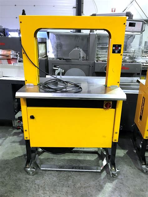 strapex smg  strapping machine year  presscity
