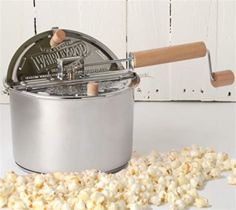 popcorn whirley popper stainless stovetop pop steel digs homegoods recipes kitchen