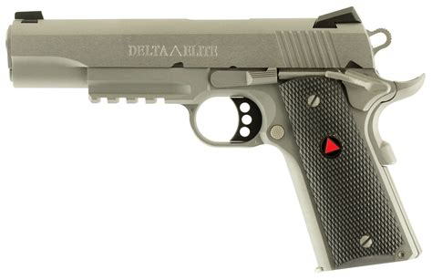 colt delta elite rail gun mm pistol org