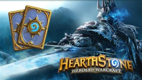 Warlock Hearthstone Deck Frozen by Hearthstone Gameplay Knights Of The Frozen Throne
