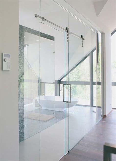 porte coulissante en verre castorama porte coulissante suspendue en verre