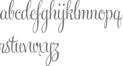 Feel Script Font Alphabet
