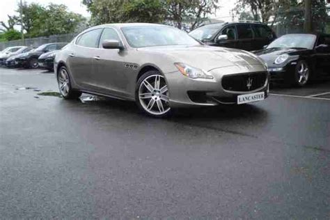 Maserati 2014 Quattroporte V8 Gts 4dr Auto Petrol Gold