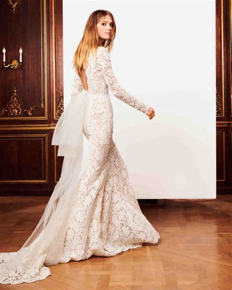 oscar de la renta fall  wedding dress collection