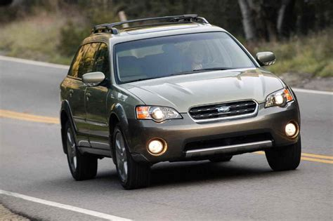 subaru outback top speed