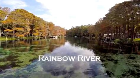 Rainbow River Boat R by Rainbow River 1920 X 1080 Youtube
