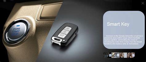 Hyundai Sonata Interior Smart Key