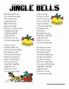 Jingle Bells Lyrics Have Fun Teaching