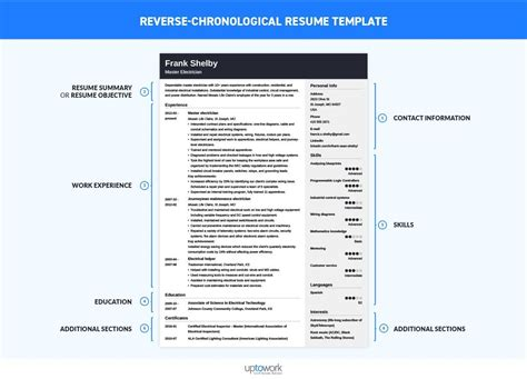 Chronical Resume by Chronological Resume Templates Bijeefopijburg Nl