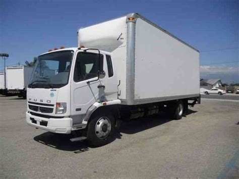 Mitsubishi Box Trucks by Mitsubishi Fuso Fk260 24ft Box Truck High Cube Aluminum