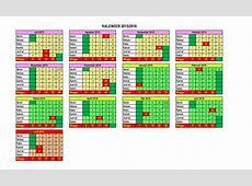 Kalender Pendidikan Sd Surabaya 2015 calendrier