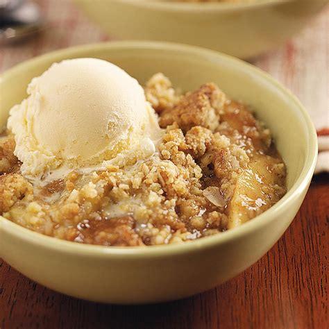 apple desert recipes oat apple crisp recipe taste of home