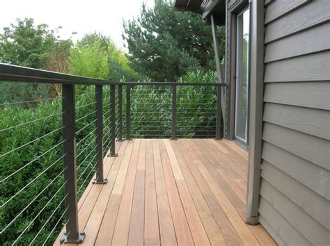 Deck Railing Ideas Home Depot by Home Depot Wire Deck Railing 187 Design And Ideas